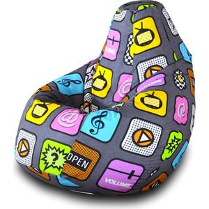 Кресло-мешок Груша Пазитифчик Плей 03 кресло мешок груша пазитифчик экзотик 03