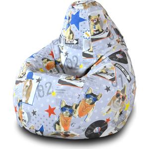 Кресло-мешок Груша Пазитифчик Бульдог 02 кресло мешок pooff груша красный