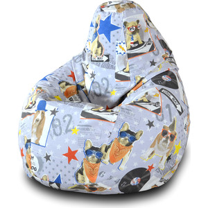 Кресло-мешок Груша Пазитифчик БУЛЬДОГ 02 мультиварка polaris pmc 0559d кофе 860 вт 5 л