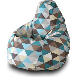 Кресло-мешок Груша Пазитифчик Ромб 02 кресло мешок pooff груша красный
