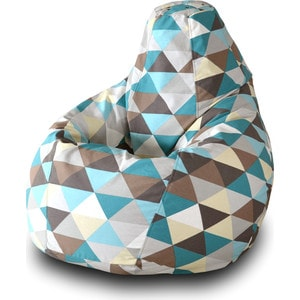 Кресло-мешок Груша Пазитифчик Ромб 03 кресло мешок груша пазитифчик желтый 03