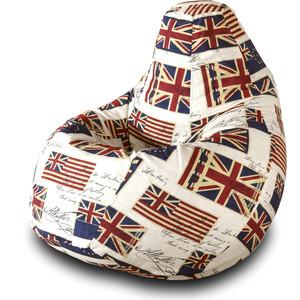 Кресло-мешок Груша Пазитифчик Флаг 03 кресло мешок груша пазитифчик кактус 03