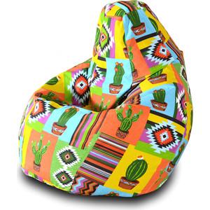 Кресло-мешок Груша Пазитифчик Кактус 04 мягкие кресла пазитифчик мешок мяч экокожа 90х90