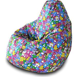 Кресло-мешок Груша Пазитифчик Мишки 02 мягкие кресла пазитифчик мешок груша оксфорд 130х85