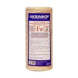 Картридж для фильтра Аквафор элемент сменный Fe (112/250 для холодной воды)