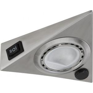 Мебельный накладной светильник Paulmann 93500 leflash свет к накладной мебельный круглый поворот g4х20вт матовое стекло титан 75 40