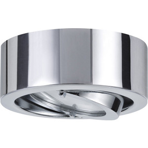 Мебельный накладной поворотный светильник Paulmann 93506 leflash свет к накладной мебельный круглый поворот g4х20вт матовое стекло титан 75 40