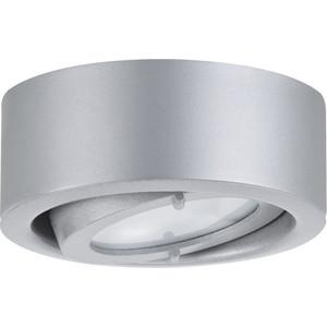 Мебельный накладной поворотный светильник Paulmann 93513 leflash свет к накладной мебельный круглый поворот g4х20вт матовое стекло титан 75 40