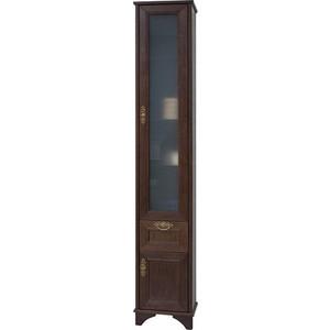 Шкаф-пенал Акватон Идель дуб шоколадный (1A198003IDM8R) правый мягкая мебель идель где в мурманске