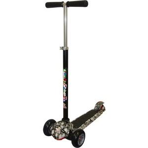 Самокат 3-х колесный Funny Scoo VipTrip (MS-970) серебро-графит funny scoo neo ms 920 оранжевый