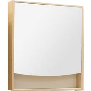 Шкаф-зеркало Акватон Инфинити 76 ясень коимбра (1A192102IFSC0) зеркало шкаф aquaton инфинити 65 1a197002if010 white