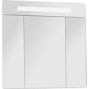 Шкаф-зеркало Акватон Юта 80 белый/ясень фабрик (1A203002UT010) акватон блент 80 белый