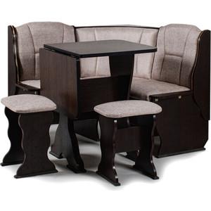 Набор мебели для кухни Бител ''НАРЦИСС'' -ОДНОТОН (венге, ТР-1 Тринити беж, венге)