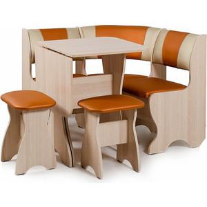 Набор мебели для кухни Бител Набор мебели для кухни ''ТЮЛЬПАН мини'' -КОМБИ (ясень, С.-120 + С.-101, ясень)