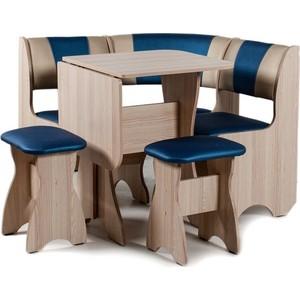 Набор мебели для кухни Бител ''ТЮЛЬПАН мини'' -КОМБИ (ясень, Т.эф.-114 + С.-101, ясень)