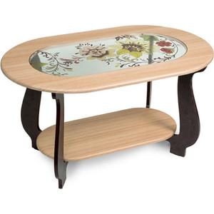 Столик журнальный Бител №21 (дуб/венге Р-1) тумбочка мебель трия прикроватная токио пм 131 03 см дуб белфорт венге цаво