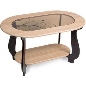 Столик журнальный Бител №21 (дуб/венге Р-4) тумбочка мебель трия прикроватная токио пм 131 03 см дуб белфорт венге цаво