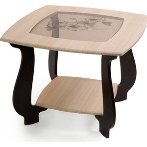 Столик журнальный Бител №22 (дуб/венге Р-2) тумбочка мебель трия прикроватная токио пм 131 03 см дуб белфорт венге цаво