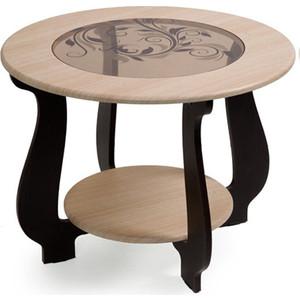 Столик журнальный Бител №24 (дуб/венге Р-3) тумбочка мебель трия прикроватная токио пм 131 03 см дуб белфорт венге цаво