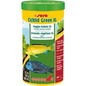 Корм SERA CICHLID GREEN XL Veggie Pellets for East African Cichlids вегетарианские гранулы для восточно-африканских цихлид 1л (370г) diversity of east african physic nut jatropha curcas l germplasm