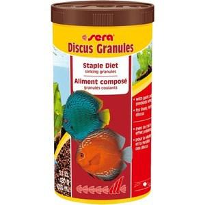 Корм SERA DISCUS GRANULAT Staple Diet Sinking Granules тонущие гранулы для дискусов 1л (480г)