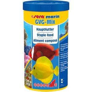 Корм SERA MARIN GVG-mix Flakes Staple Food хлопьевидная смесь для морских рыб 1л (210г)