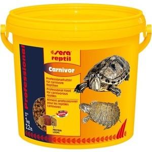 Корм SERA REPTIL Professional Carnivor Professional Food for Carnivorous Reptiles гранулы для плотоядных рептилий 3,8 л (1кг)