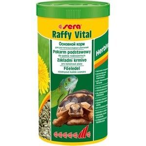 Корм SERA RAFFY VITAL Herbivor Staple Food for Herbivorous Reptiles гранулы для растительноядных рептилий 1л (190г)