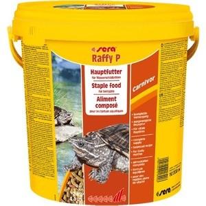 Корм SERA RAFFY P Carnivor Sticks Staple Food for Terrapins палочки для плотоядных водных черепах 10л (2кг)