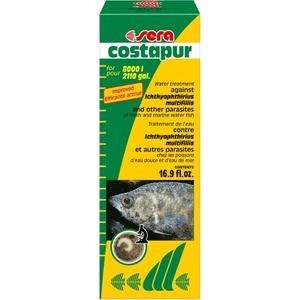 Средство SERA COSTAPUR Water Treatment против кожных паразитов для пресноводных и морских рыб 500мл