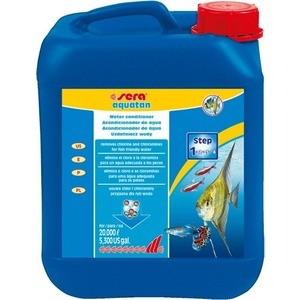 Кондиционер SERA AQUATAN Water Conditioner удаление хлора и хлорамина для воды в аквариуме 5л