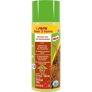 Удобрение SERA FLORE 2 FERRO Systemic Care Additional Iron с содержанием железа для аквариумных растений 500мл