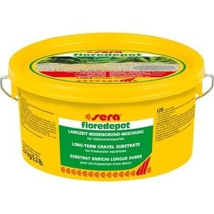 Грунт для растений SERA FLOREDEPOT Long-Term Gravel Substrate гравий для пресноводных аквариумов 4,7кг (пакет)