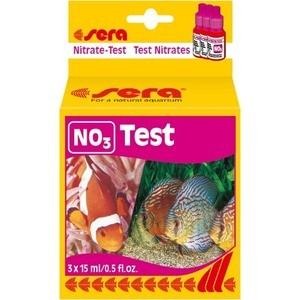Тест SERA NO3-Test Nitrate-Test на содержание нитратов для воды в аквариуме 15мл компрессор sera precision air 275 r plus с регулятором для аэрации воды в аквариуме