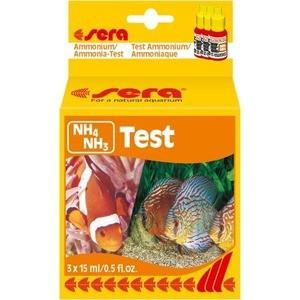 Тест SERA NH4/NH3-Test Ammonium / Ammonia-Test на содержание аммония и аммиака для воды в аквариуме 3х15мл nh zurbano 3 мадрид