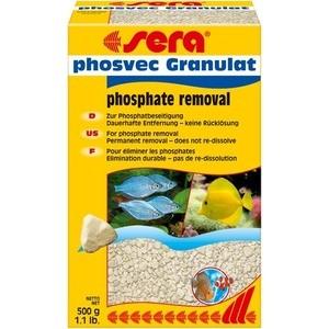 Наполнитель для фильтра SERA PHOSVEC GRANULAT Phosphat Removal для удаления фосфатов из аквариумной воды 500г средство для воды sera baktopur direct 24 таблетки