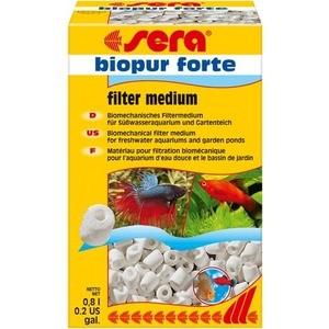 Наполнитель для фильтра SERA BIOPUR FORTE Biomechanical Filter Medium биомеханический для воды в пресноводных, морских аквариумах и садовых прудах 800мл