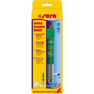 Нагреватель SERA PRECISION DELTA HEATER DH25 Aquarium Heater Thermostat регулируемый для воды в аквариуме 25вт аквариумный нагреватель sera precision 50 вт
