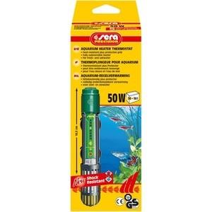 Нагреватель SERA PRECISION 50W Aquarium Heater Thermostat Protective Grid с защитной сеткой регулируемый для воды в аквариуме 50вт компрессор аквариумный sera air 550 r plus регулируемый