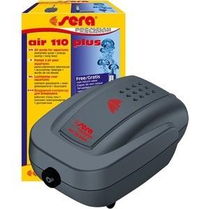Компрессор SERA PRECISION AIR 110 plus Air Pomp для аэрации воды в аквариуме компрессор аквариумный sera air 550 r plus регулируемый