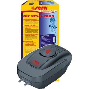 Компрессор SERA PRECISION AIR 275 R plus с регулятором для аэрации воды в аквариуме средство для воды sera baktopur direct 24 таблетки