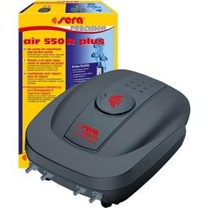 Компрессор SERA PRECISION AIR 550 R plus с регулятором для аэрации воды в аквариуме компрессоры воздушные в тюмени