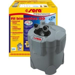 Фильтр SERA PRECISION SERA fil BIOACTIVE 130 External Filter внешний для воды в аквариуме до 130л помпа sera precision adjustable filter and feed pump fp 1000 погружная для аквариумов