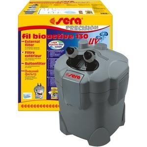 Фильтр SERA PRECISION SERA fil BIOACTIVE 130 + UV External Filter внешний c УФ-стерилизатором для воды в аквариуме до 130л помпа sera precision adjustable filter and feed pump fp 1000 погружная для аквариумов
