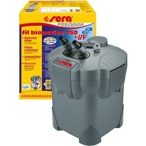 Фильтр SERA PRECISION SERA fil BIOACTIVE 250 + UV External Filter внешний c УФ-стерилизатором для воды в аквариуме до 250л