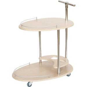 Стол сервировочный Калифорния мебель Фуршет Дуб