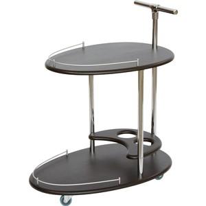 Стол сервировочный Калифорния мебель Фуршет Венге мебель