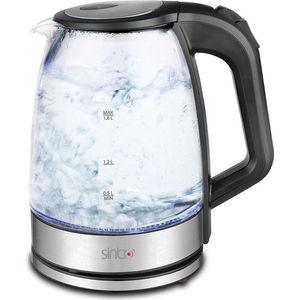 Чайник электрический Sinbo SK 7368 черный чайник электрический sinbo sk 7323 2200вт белый и синий
