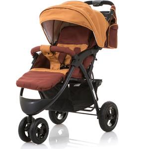 Коляска прогулочная BabyHit Voyage AIR коричневый коляска прогулочная babyhit drive серо оранжевая