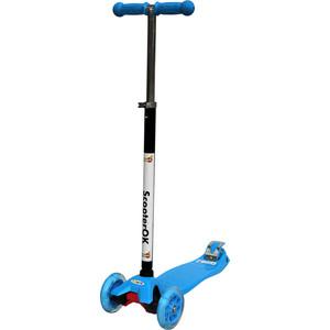 Самокат BabyHit ScooterOK Plus синий